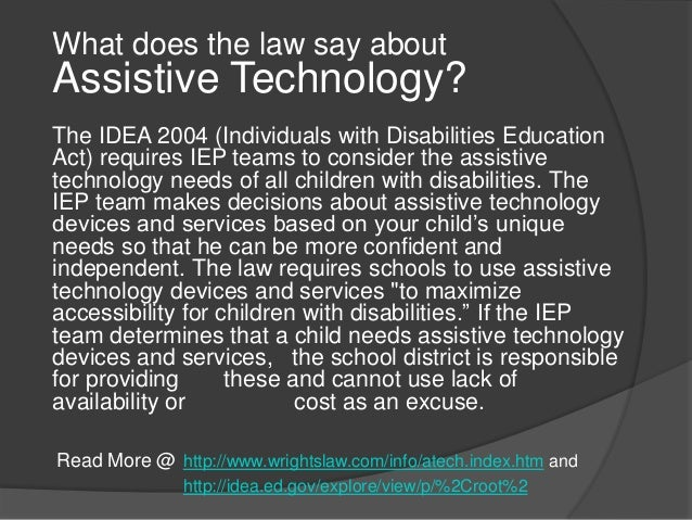 assistive technology devices improve life for The role of assistive technology in improving the lives of disabled people peter lambreghts, enil board member recently spoke about the importance of assistive technology in improving the lives of disabled people at ku leuven university.