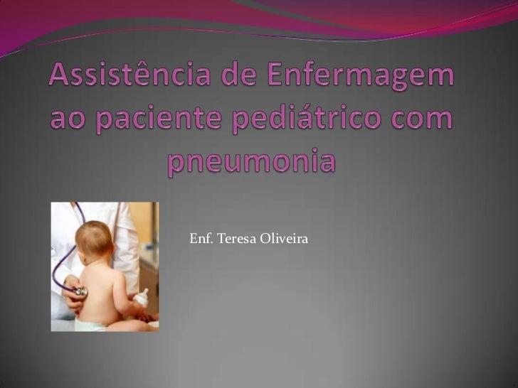 Enf. Teresa Oliveira