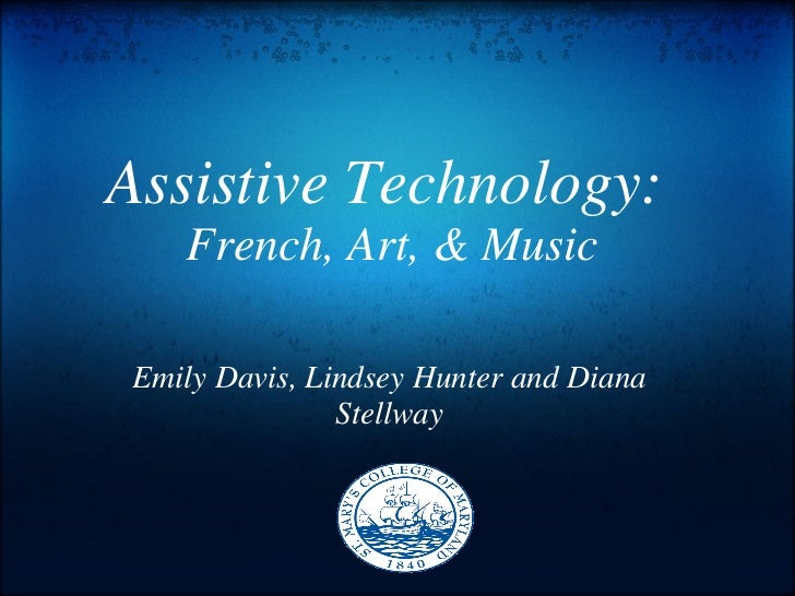 Assitive technology french_art_music