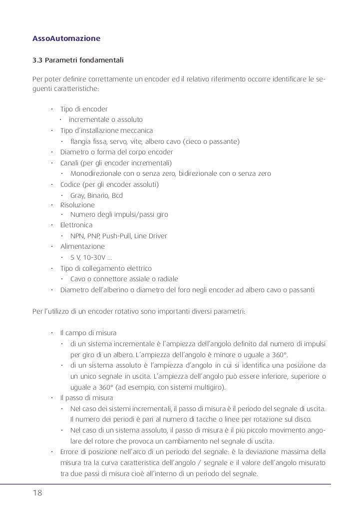 Schema Collegamento Encoder Incrementale : Assoautomazione guida encoder