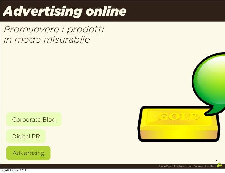 Advertising online Promuovere i prodotti in modo misurabile        Corporate Blog        Digital PR        Advertising    ...