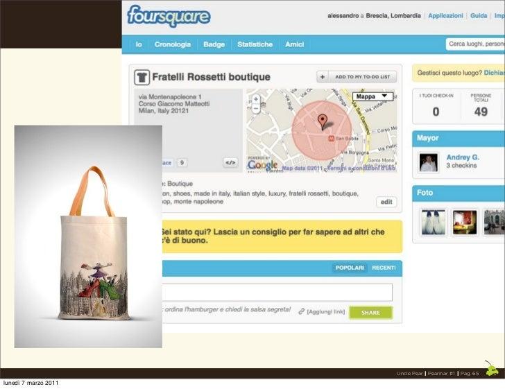 Uncle Pear | Pearinar #1 | Pag. 65lunedì 7 marzo 2011