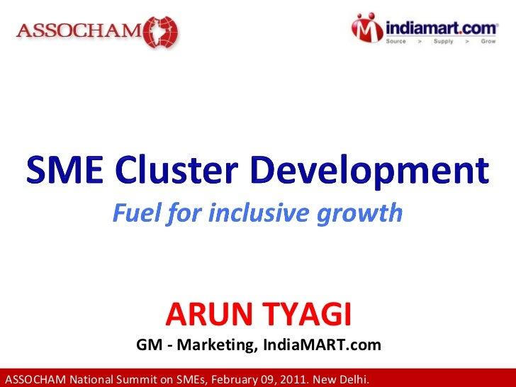 ARUN TYAGI GM - Marketing, IndiaMART.com
