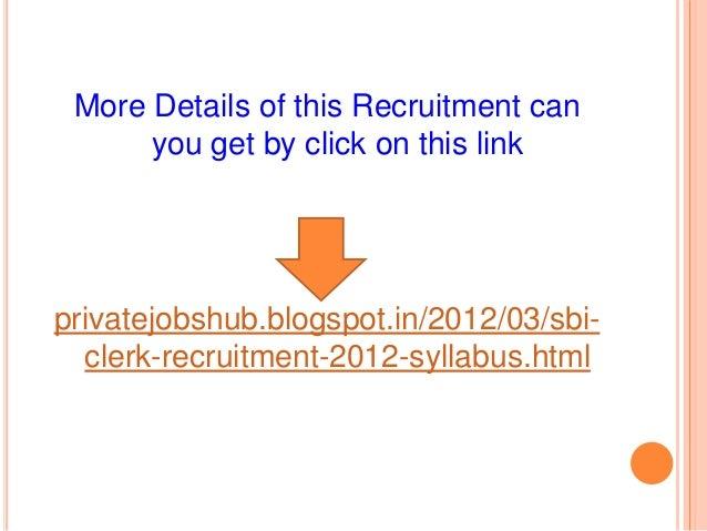 www statebank com recruitment 2014