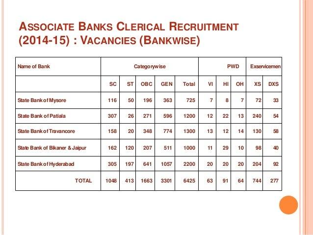 sbi associate clerk online application 2014