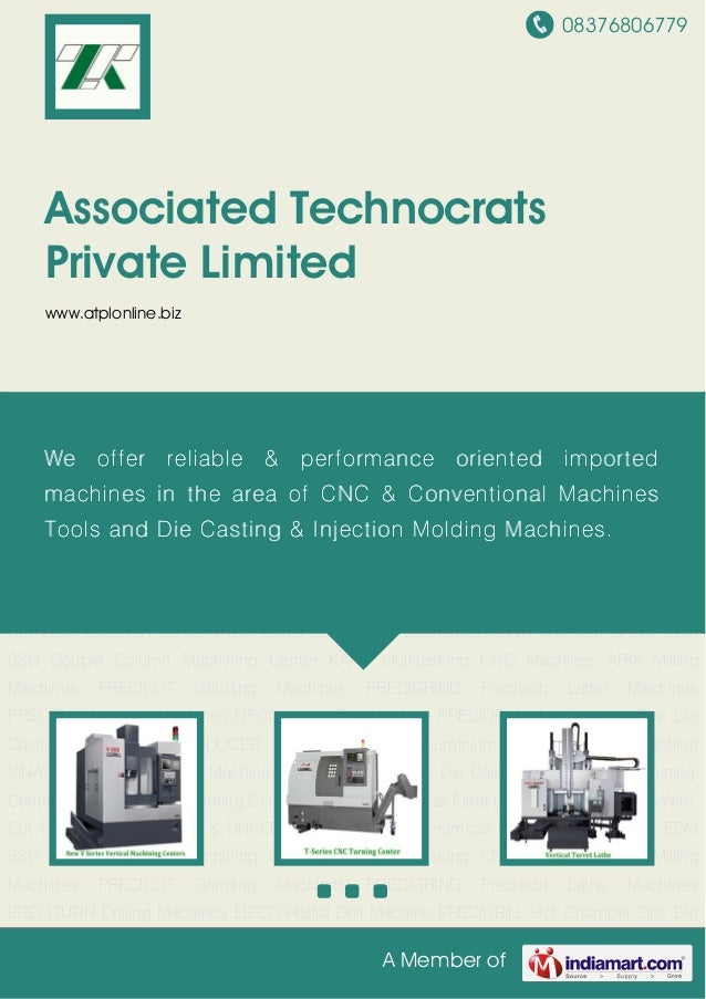 08376806779A Member ofAssociated TechnocratsPrivate Limitedwww.atplonline.bizMachining Centers LEADWELL CNC Turning Center...