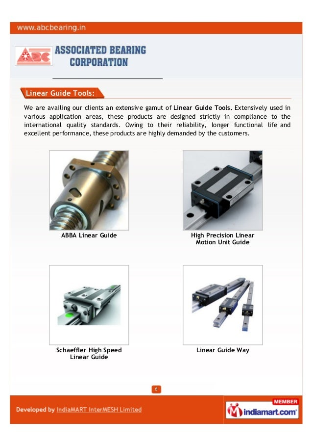Linear Guide Tools:We are availing our clients an extensive gamut of Linear Guide Tools. Extensively used invarious applic...