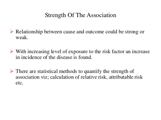 Biologic Plausibility Of The Association  The association must be consistent with the other knowledge (viz mechanism of a...