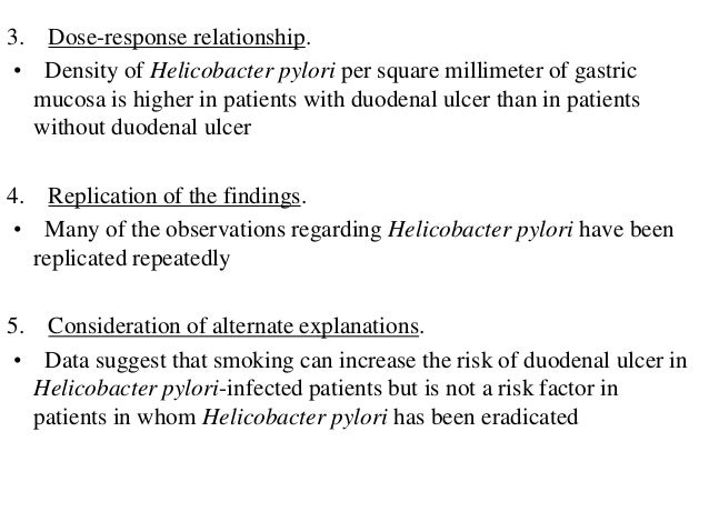 Modified Guidelines for Evaluating the Evidence of a Causal Relationship. (In each category, studies are listed in descend...
