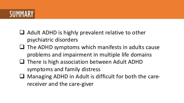 the causes prevalence and treatment of attention deficit hyperactivity disorder