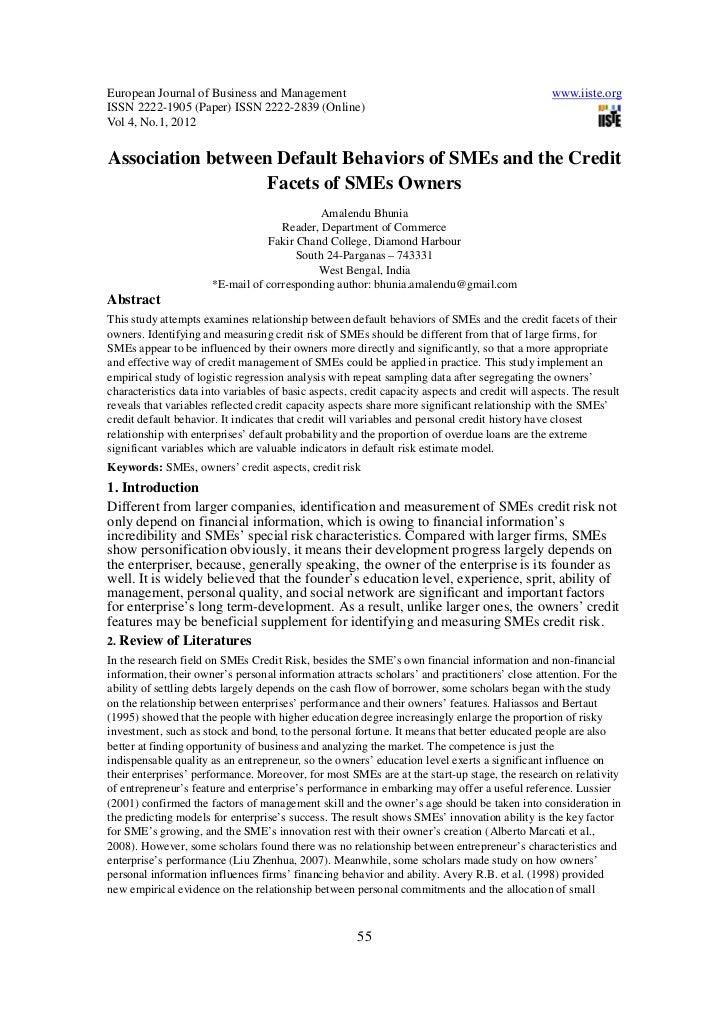 European Journal of Business and Management                                                       www.iiste.orgISSN 2222-1...
