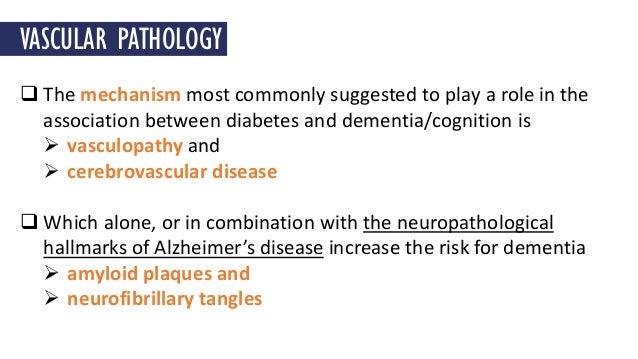 relationship between diabetes and dementia