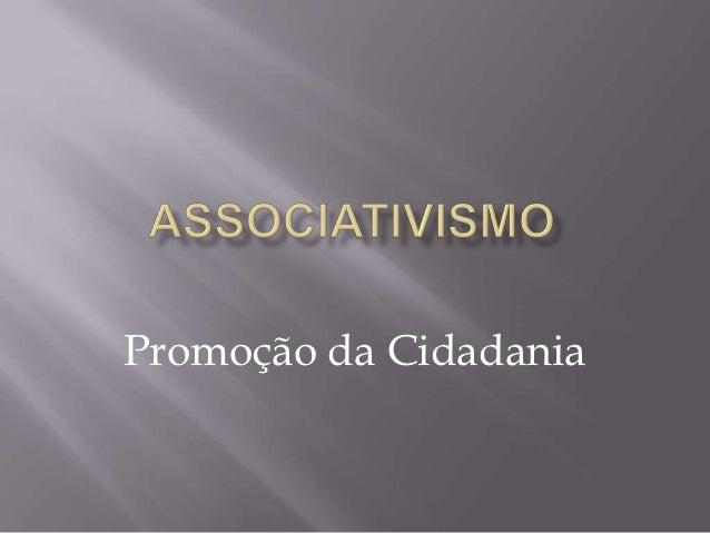 Promoção da Cidadania