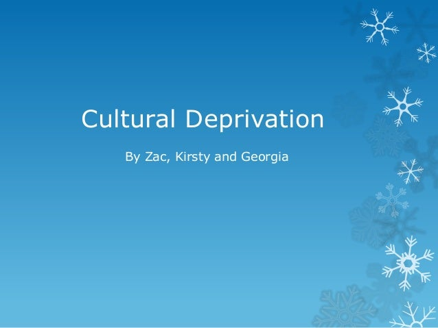 self deprivation meaning