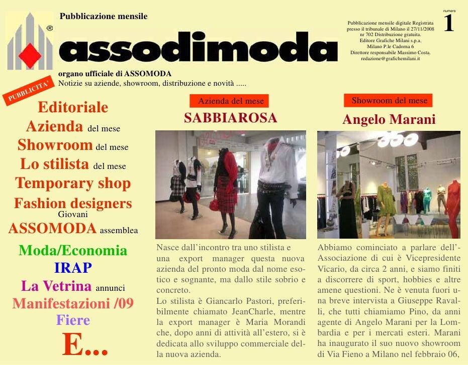 online store 5e992 3a5b8 Assodimoda Gennaio