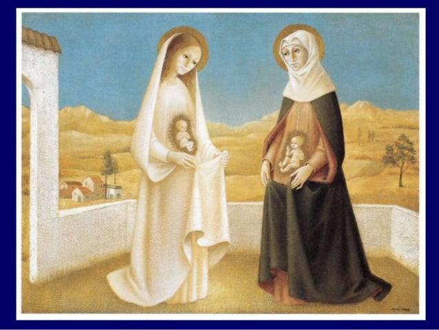 """La première en chemin, Marie tu nous entraînes A risquer notre """"oui"""" aux imprévus de Dieu. Et voici qu'est semée en l'argi..."""