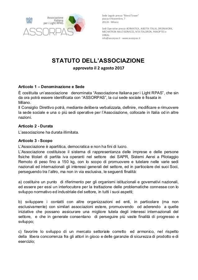 """Sede Legale presso """"Blend Tower"""" piazza 4 Novembre, 7 20124 - Milano Sedi Operative presso AERMATI..."""