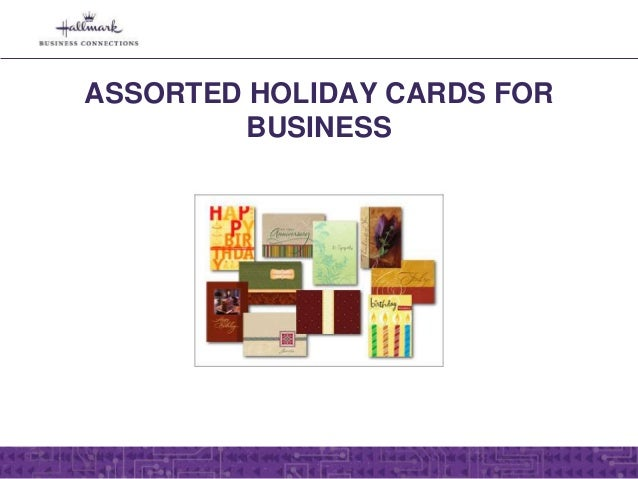 Assorted Hallmark Greeting Cards For Business