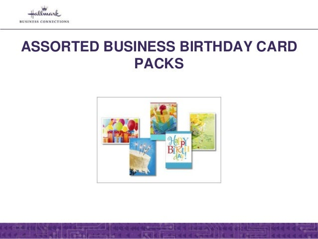 Assorted hallmark greeting cards for business birthday card assortments for business 4 reheart Image collections