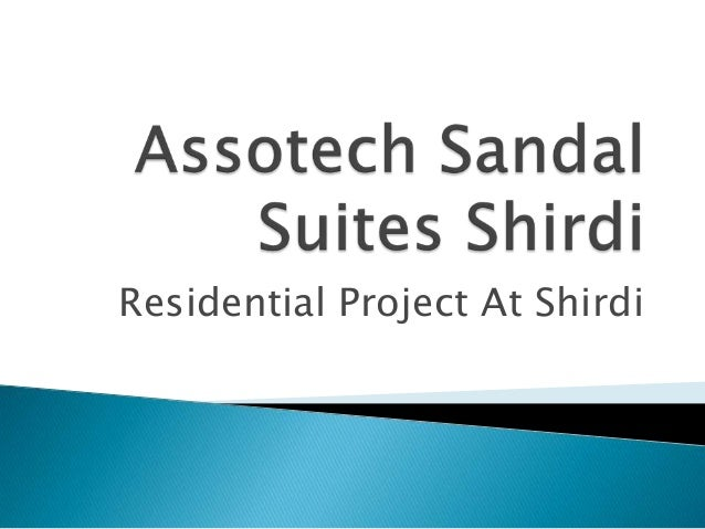 Residential Project At Shirdi