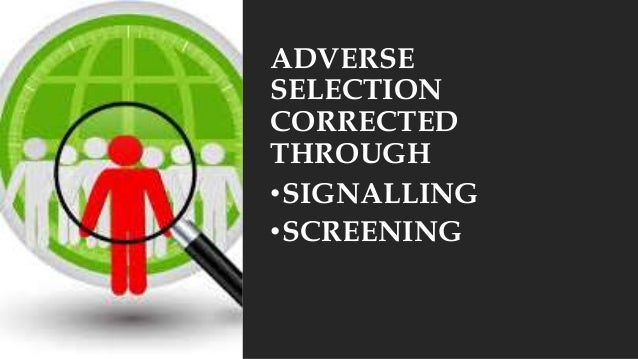 how do moral hazard and adverse selection affect the insurance market Moral hazard adverse selection is related to the concept of  and the life insurance market will collapse  does adverse selection affect bid-ask spreads for.