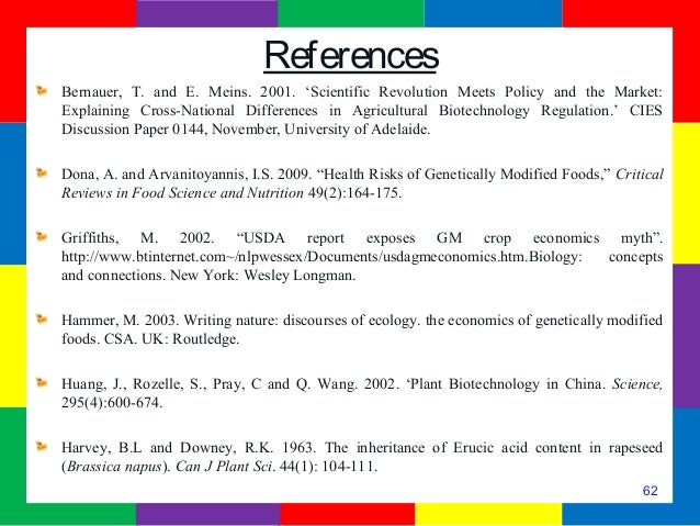 analysing genetically modified and organic foods biology essay This is an argument essay  genetically modified organism (gmo) is one of the most important issues from around the world gmos are special organisms in which the genetic material has been.