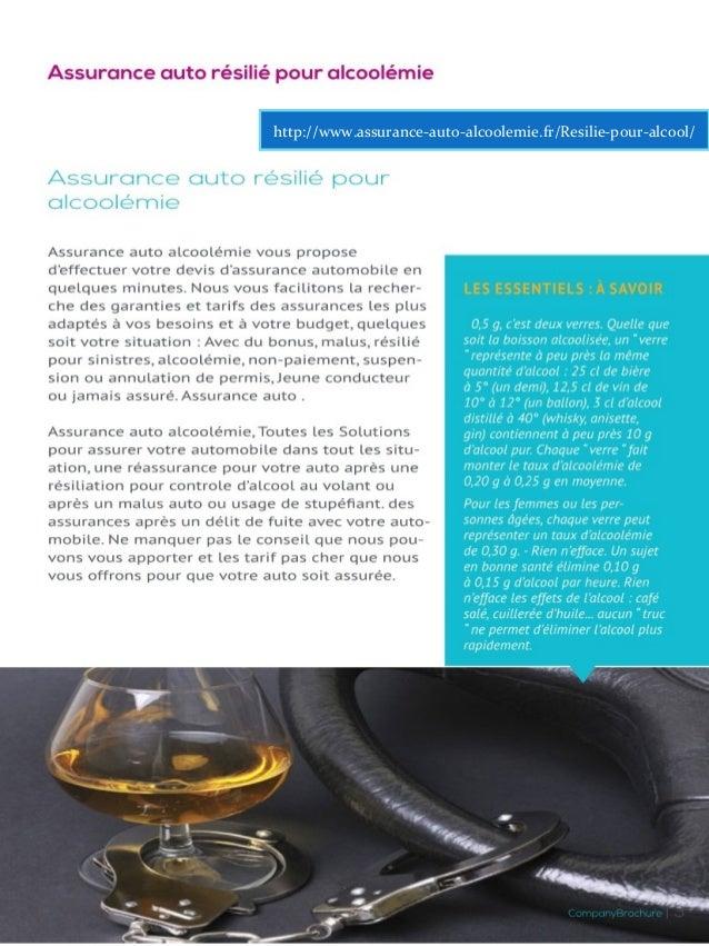 Assurance auto alcoolemie Slide 3