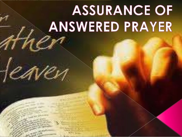  What is prayer? What should we ask in prayer? Why to pray? How to pray? What are the conditions for receiving  answe...