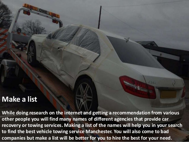What No One Told You About Hiring Car Accident Recovery Bury