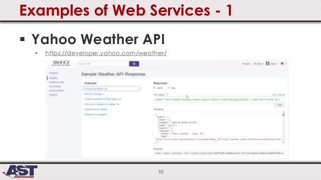 getting started with web services