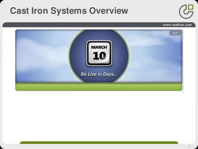21 Cast Iron Systems Overview