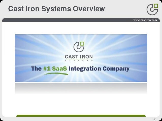 24 Cast Iron Systems Overview