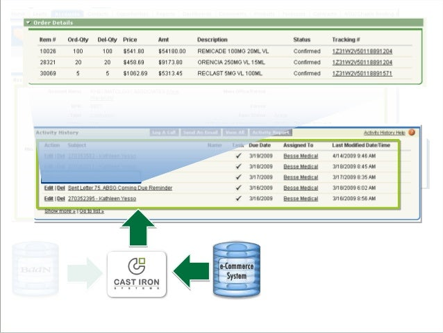 Solutions  Cast Iron Solution for real-time and batch integration  ProServ partnership with Astadia  A/R, credit, and s...