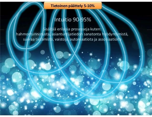 """Asta Raami, Aalto yliopisto: """"Intuitio, oppimisen alihyödynnetty voimavara"""", Esitys Uusi koulutus -foorumilla 22.1.2015 Slide 2"""