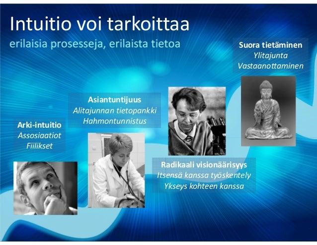 Monimutkaiset ongelmat Nykyisestä laajennettu paradigma Emme osaa kuvitella Uusi orastava paradigma Emme osaa kuvitella In...