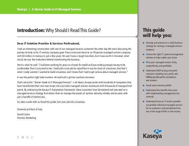 A Starter Guide to IT Managed Services Slide 3