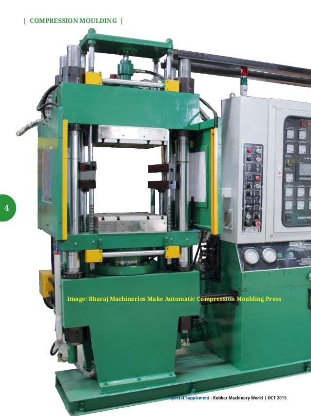 5 COMPRESSION MOULDING MACHINERY Compression moulding is the most common moulding technique you will notice in the rubber ...