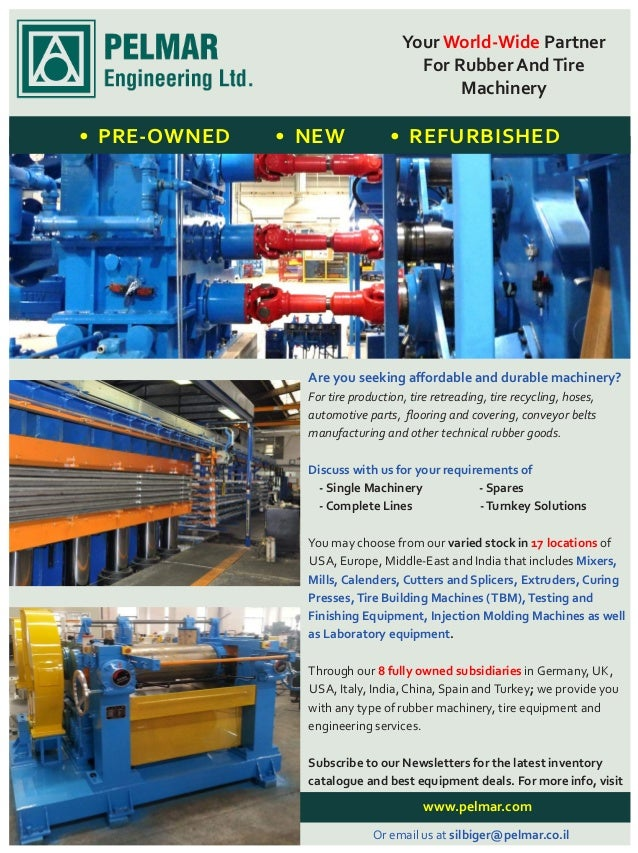 Compression Moulding Press: The machinery you will use is called Compression Moulding Press. These presses are mostly hydr...
