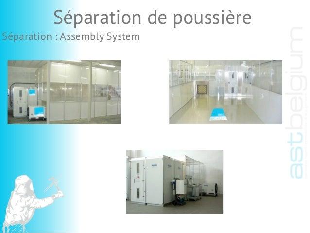 Séparation : Assembly System Séparation de poussière