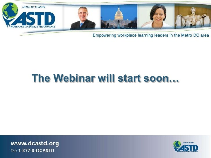 The Webinar will start soon…<br />