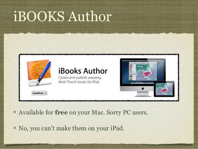 Ibooks Author For Pc