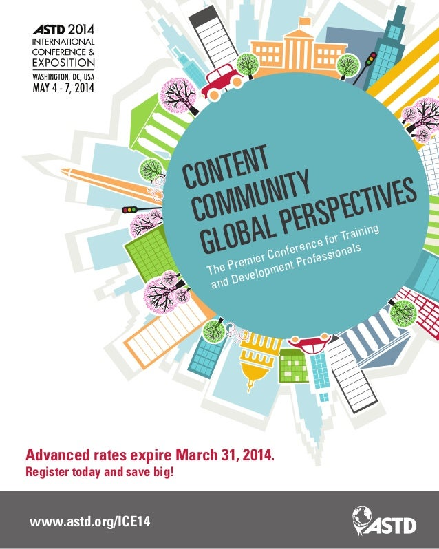 Astd 2014 International Conference And Exposition Brochure