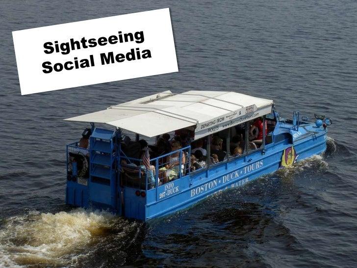 Sightseeing Social Media<br />