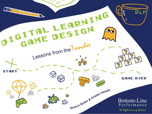 Digital Learning Game Design Lessons from the Trenches  Presented	   by	    Sharon	   Boller	   &	   Kristen	   Hewe2	    ...