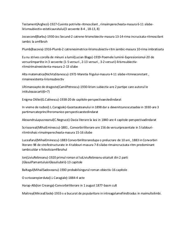 Testament(Arghezi)-1927-Cuvinte potrivite-ritmoscilant , rimaimperecheata-masura 6-11 silabe- lirismsubiectiv-esteticaurat...