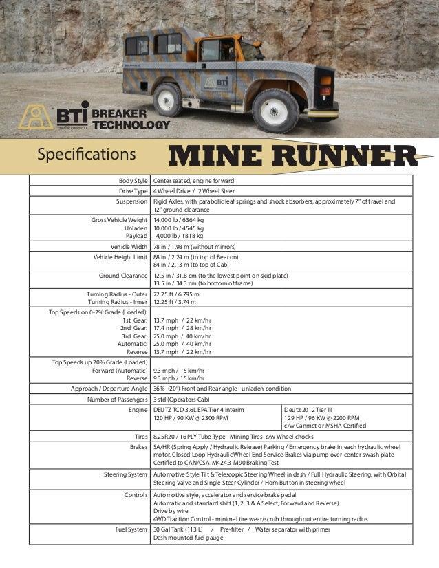 Astec Australia - Mobile Underground Mining