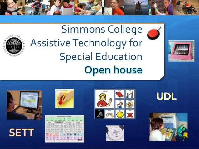 Simmons College AssistiveTechnology for Special Education