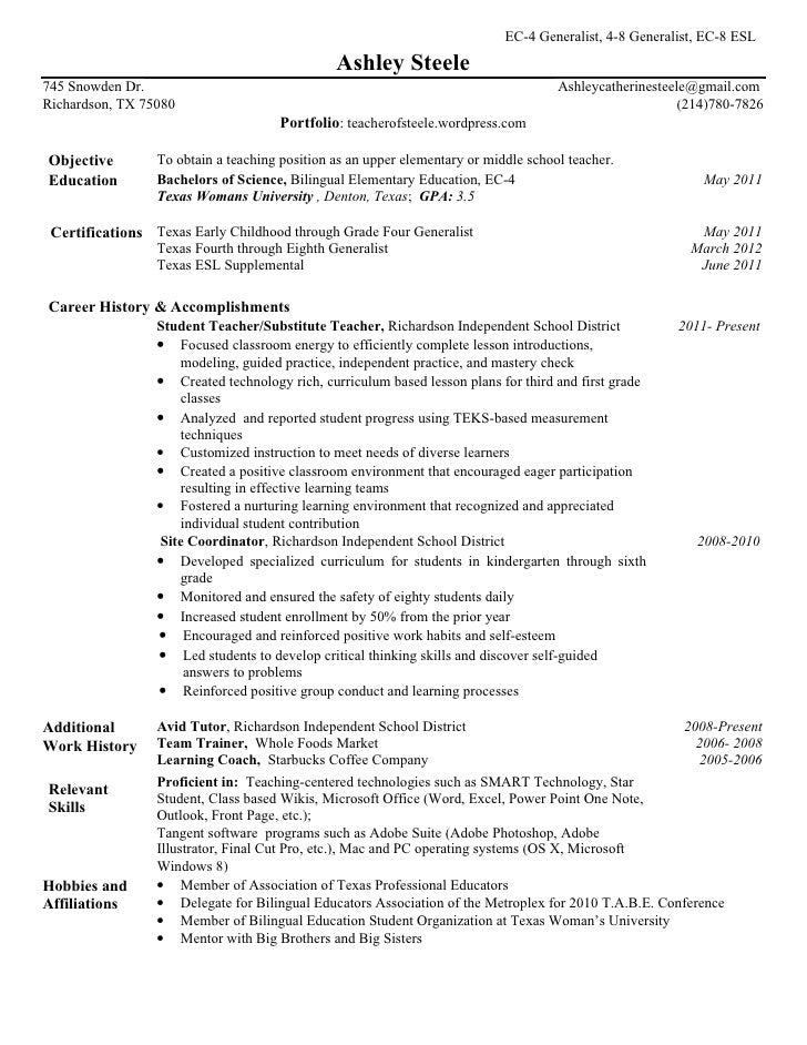 asteele resume