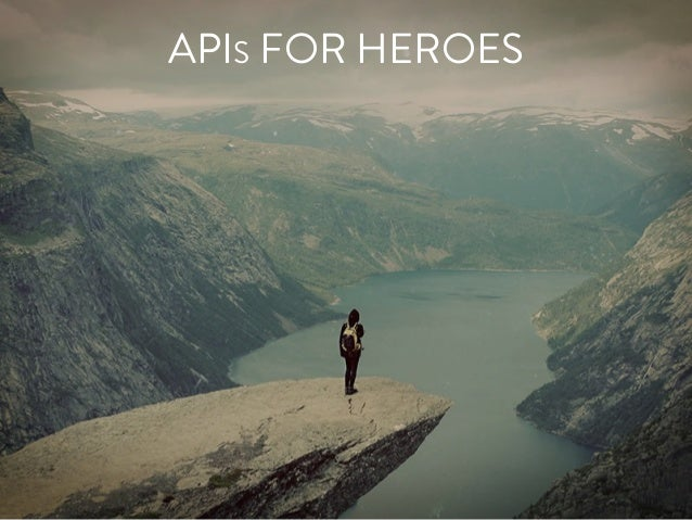 APIS FOR HEROES