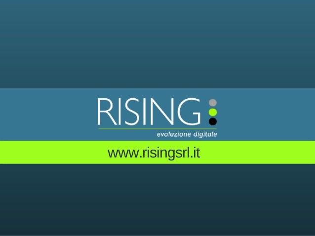 www.risingsrl.it
